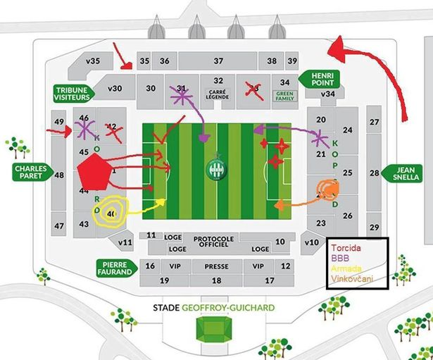 Croatian-ultras-Saint-Etienne-trouble-stadium-plan