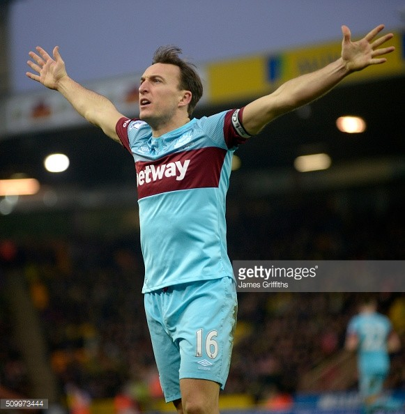 Mark Noble - The one that got away? Getty Image