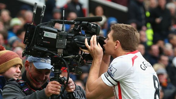 gerrard kiss camera
