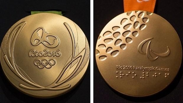 Pingat emas Olimpik dan Paralimpik Rio | Gambar : CBC