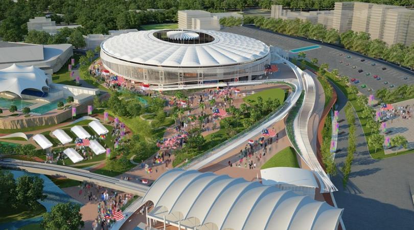 Gambar Wajah Baru Stadium Bukit Jalil 2017